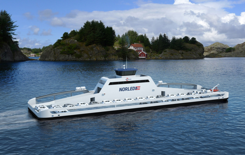 All-Electric Car Ferry