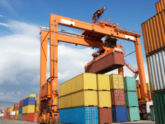 Two New Hybrid Rubber-Tired Gantry Cranes (RTGs)  to be installed in Yidong Terminal, Port of Shanghai