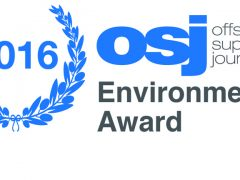 Environmental Award -2016 Offshore Support Journal Conference