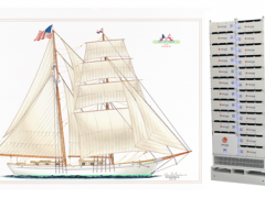 Corvus Energy and BAE Systems Collaborate on Their Third Hybrid Vessel Project, a Tall ship for the Educational Tall Ship Program
