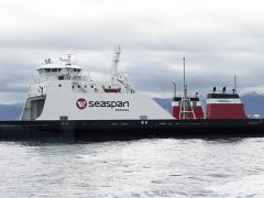Corvus Energy Powers First LNG-Battery Hybrid Cargo Ferry in North America