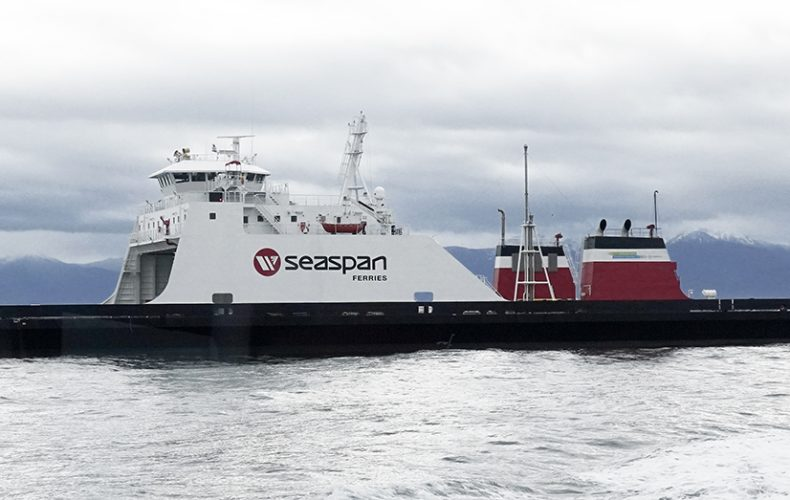 First hybrid ferry delivered for West Coast cargo service