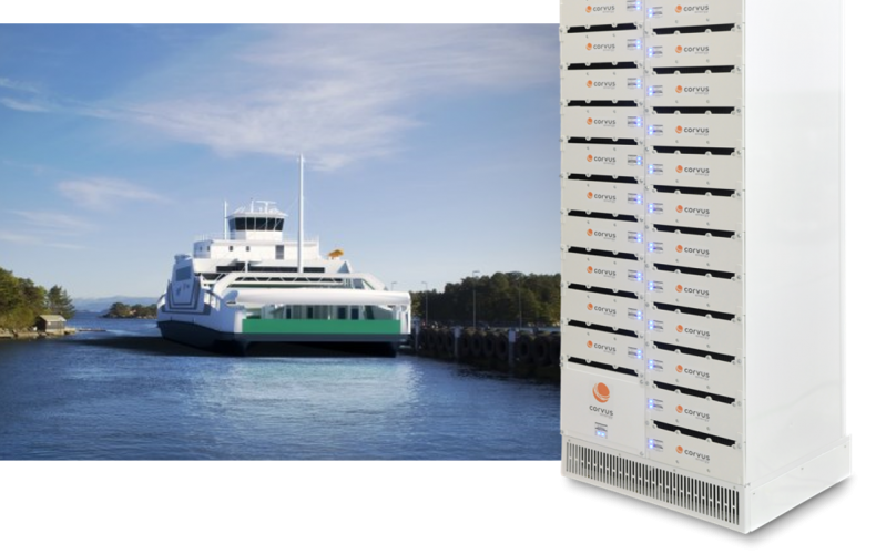 Corvus Energy secures contract for new Norwegian all-electric, battery powered ferry