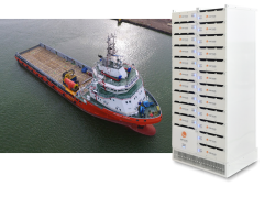Corvus Energy to power first hybrid platform supply vessels in Gulf of Mexico