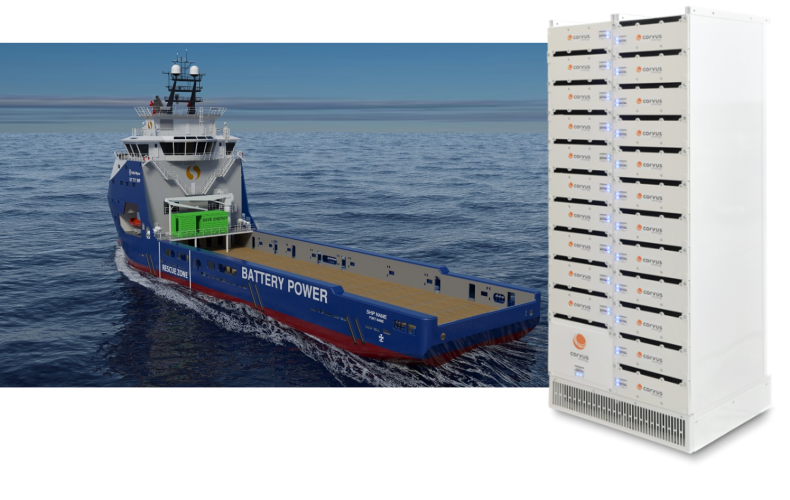 Corvus Energy to power all hybrid PSVs in the Gulf of Mexico