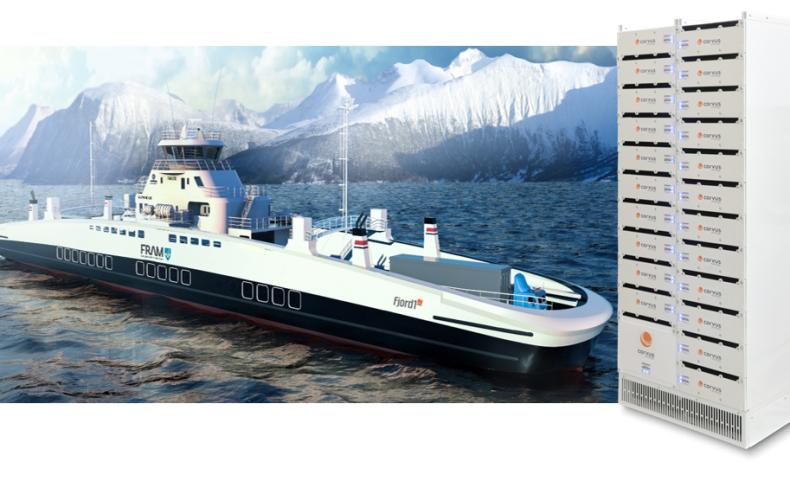 Corvus Energy secures contracts for five all-electric, battery-powered ferries