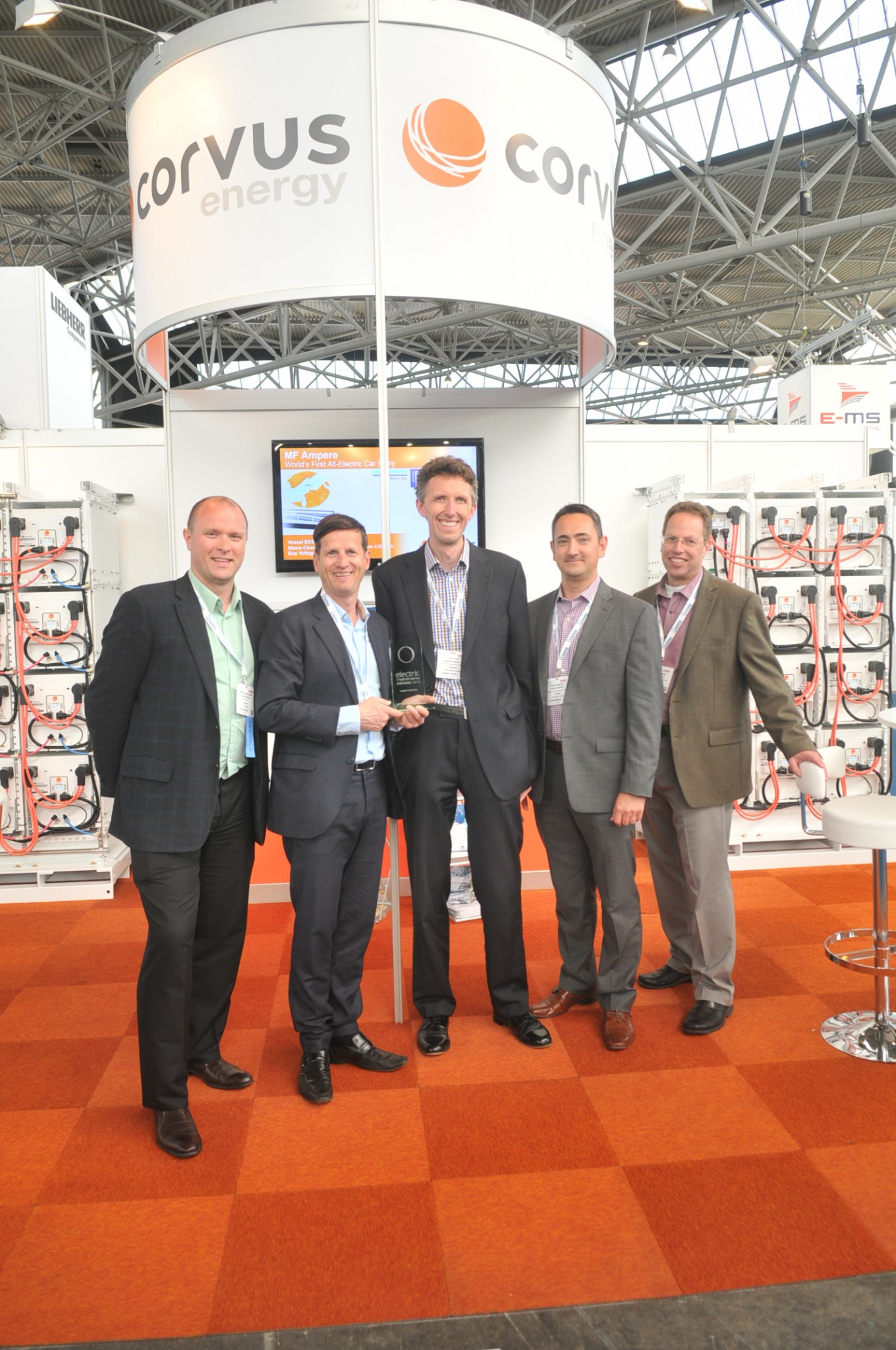 Electric & Hybrid Marine World Expo 2015 - Supplier of the Year 2015