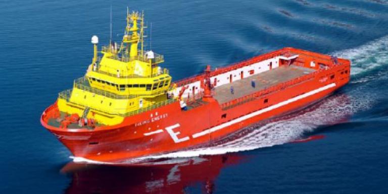 Viking, Eidesvik's Hybrid supply vessel, sports battery made by LG Chem
